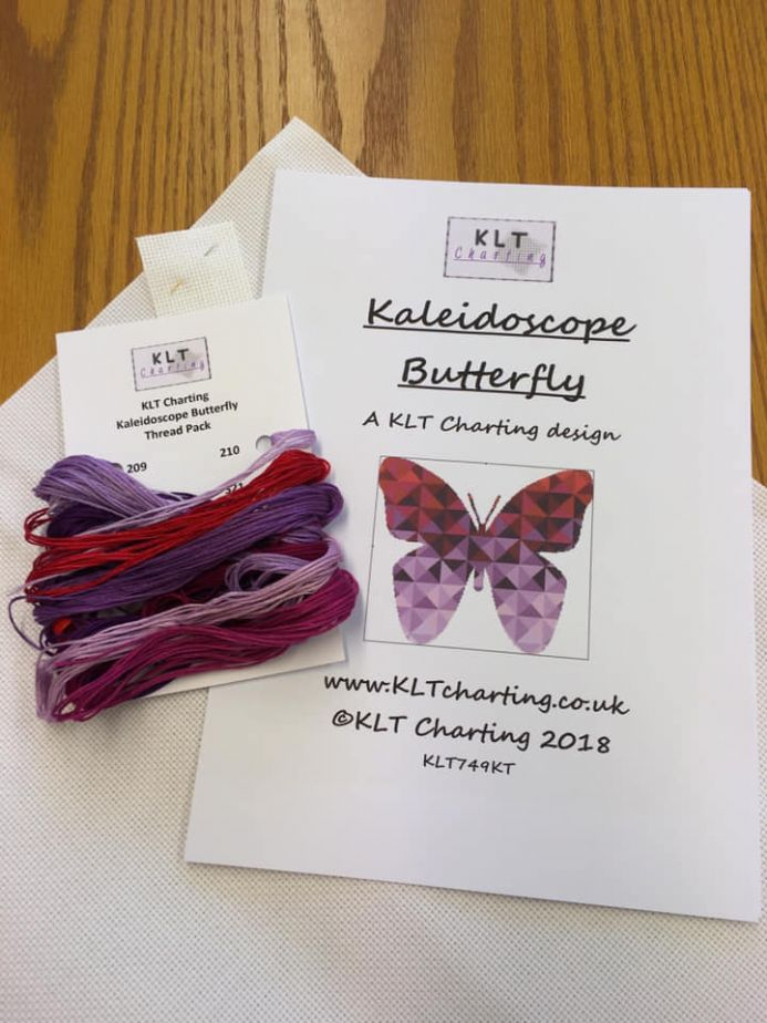 Kaleidoscope Butterfly Full Kit